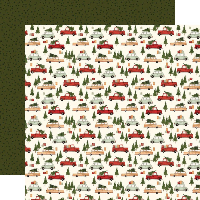 Carta Bella Hello Christmas - Christmas Cars