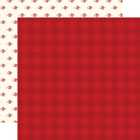 Carta Bella Hello Christmas - Red Plaid