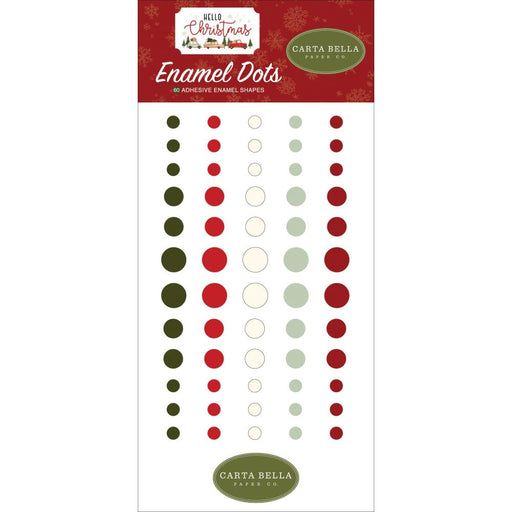Carta Bella Hello Christmas - Enamel Dots