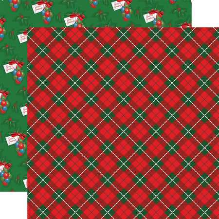Carta Bella Dear Santa - Jolly Tartan