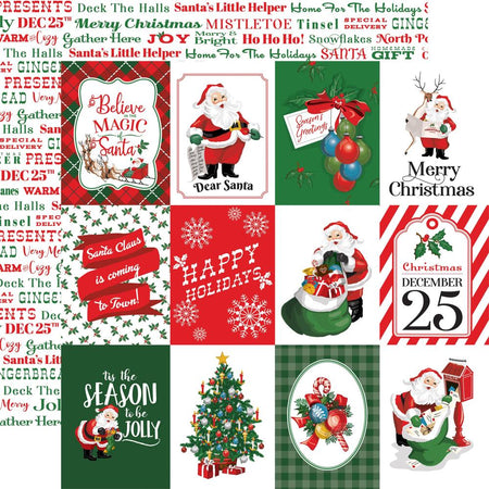 Carta Bella Dear Santa - 3x4 Journaling Cards