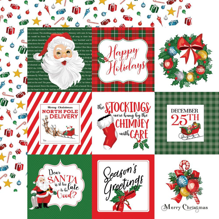 Carta Bella Dear Santa - 4x4 Journaling Cards