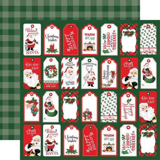 Carta Bella Dear Santa - Tags