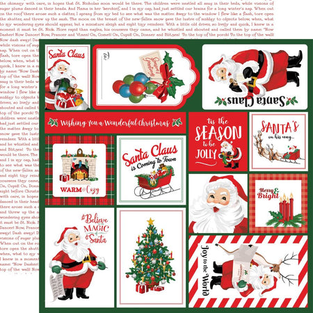 Carta Bella Dear Santa - Multi Journaling Cards