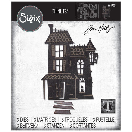Sizzix Tim Holtz Alterations Thinlits Die - Haunted