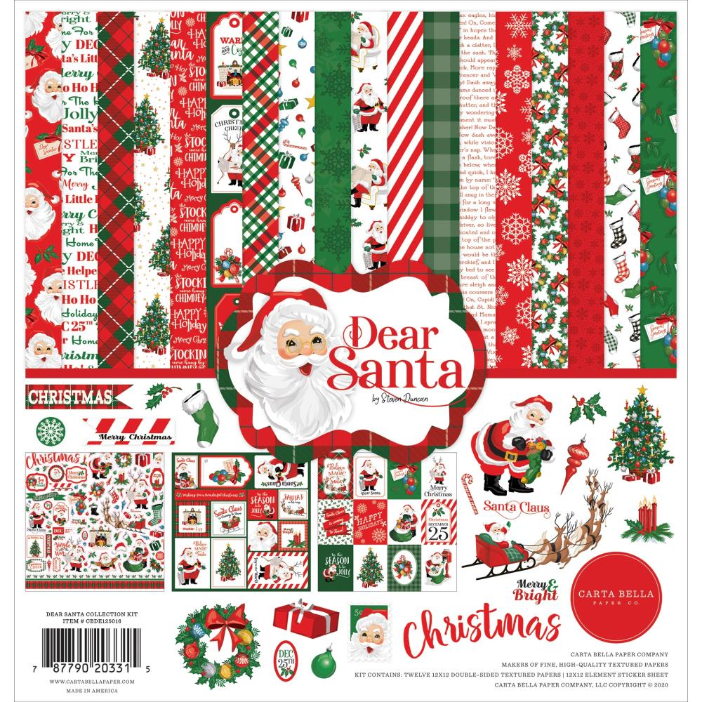 Carta Bella Dear Santa - Collection Kit