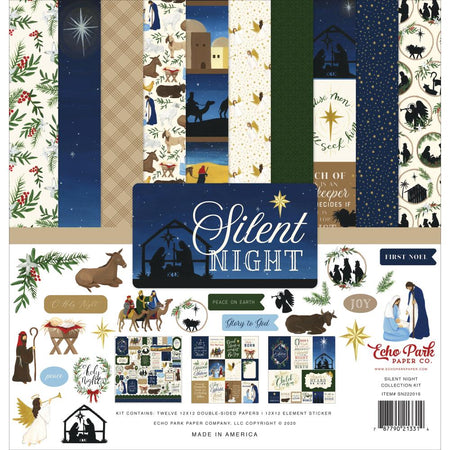 Echo Park Silent Night - Collection Kit