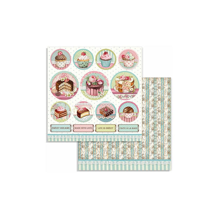Stamperia - Sweety Mini Cake Rounds