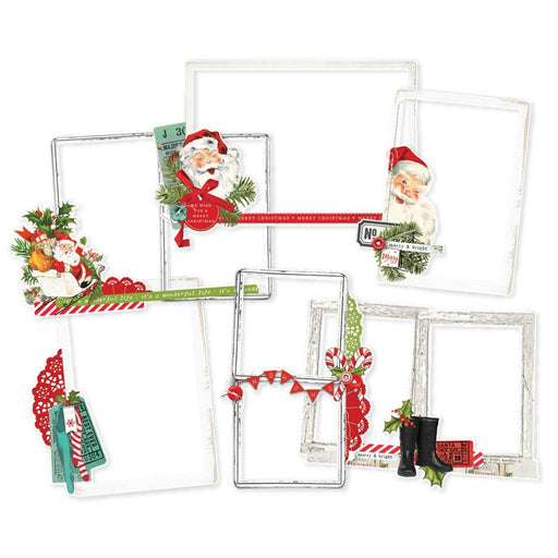 Simple Stories Simple Vintage North Pole - Layered Frames