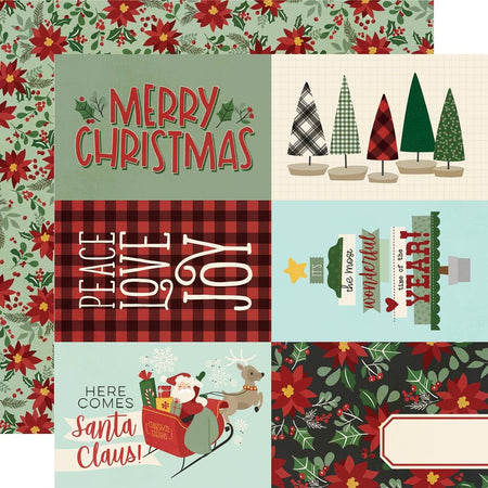 Simple Stories Jingle All The Way - 4x6 Elements