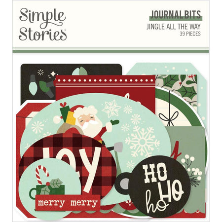 Simple Stories Jingle All The Way - Journal Bits & Pieces
