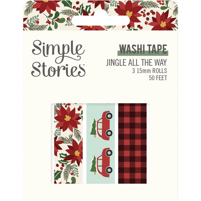 Simple Stories Jingle All The Way - Washi Tape