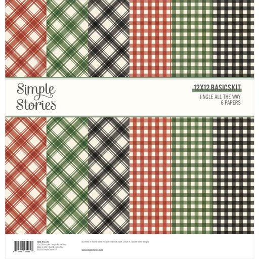 Simple Stories Jingle All The Way - 12x12 Simple Basics Kit