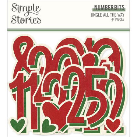 Simple Stories Jingle All the Way - Number Bits