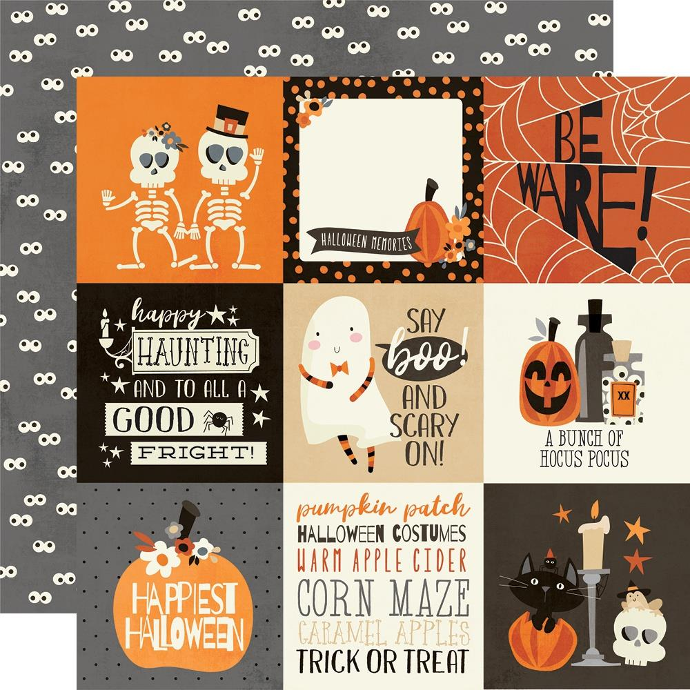 Simple Stories Boo Crew - 4x6 Elements