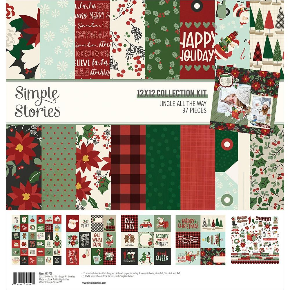 Simple Stories Jingle All The Way - 12x12 Collection Kit