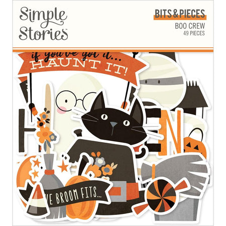 Simple Stories Boo Crew - Bits & Pieces