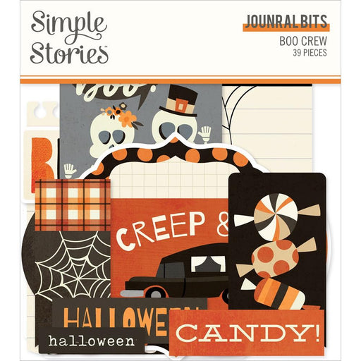 Simple Stories Boo Crew - Journal Bits & Pieces