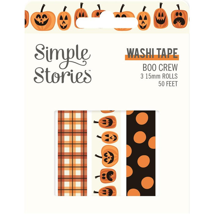 Simple Stories Boo Crew - Washi Tape