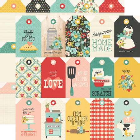 Simple Stories Apron Strings - Tags