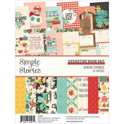 Simple Stories Apron Strings - 6x8 Paper Pad