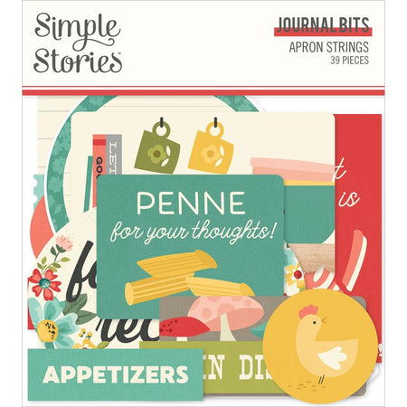 Simple Stories Apron Strings - Journal Bits & Pieces
