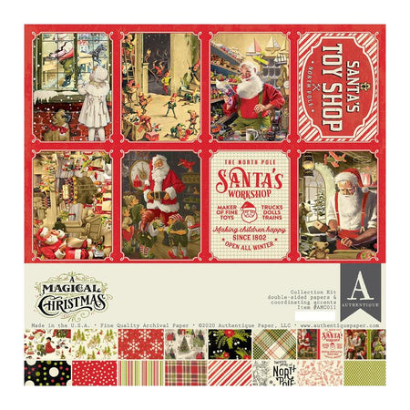 Authentique A Magical Christmas - Collection Kit