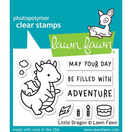 Lawn Fawn Clear Stamps - Little Dragon