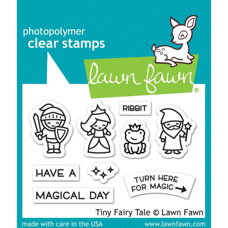 Lawn Fawn Clear Stamps - Tiny Fairy Tale
