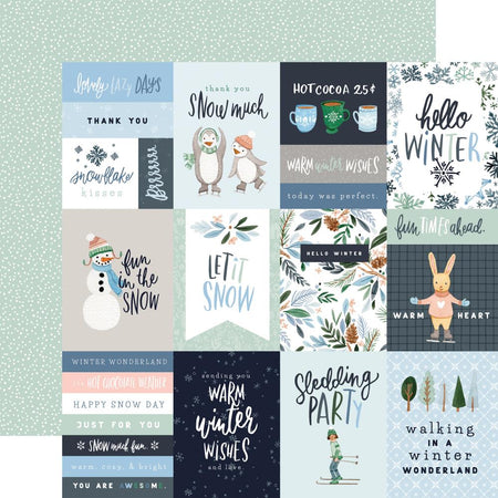 Carta Bella Winter Market - 3x4 Journaling Cards