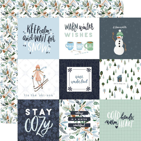 Carta Bella Winter Market - 4x4 Journaling Cards