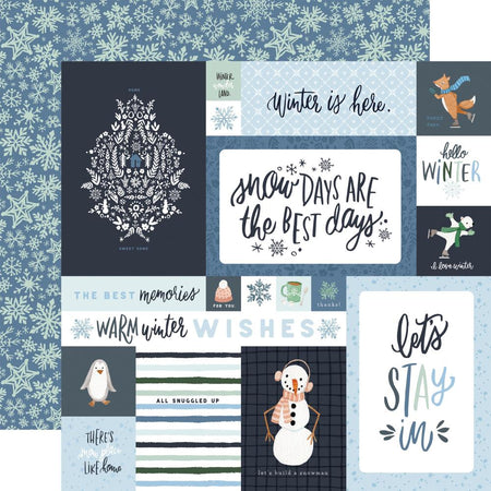 Carta Bella Winter Market - 4x6 Journaling Cards