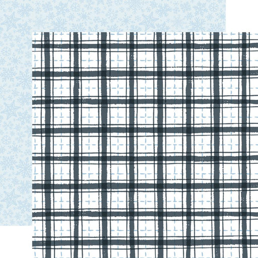 Carta Bella Winter Market - Frosty Plaid