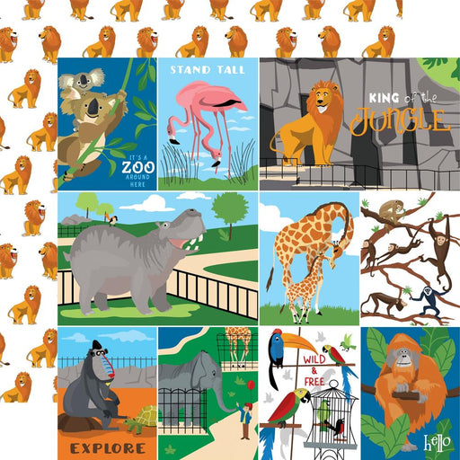 Carta Bella Zoo Adventure - Multi Journaling Cards