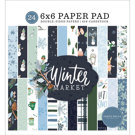 Carta Bella Winter Market - 6x6 Paper Pad