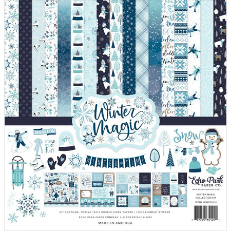 Echo Park Winter Magic - Collection Kit