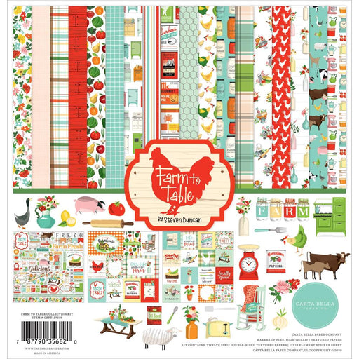 Carta Bella Farm To Table - Collection Kit