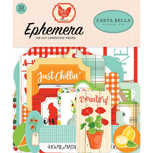 Carta Bella Farm to Table - Ephemera