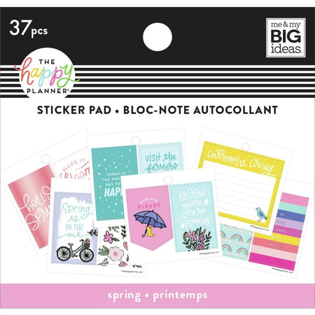 Me & My Big Ideas Happy Planner - Tiny Sticker Pad Spring