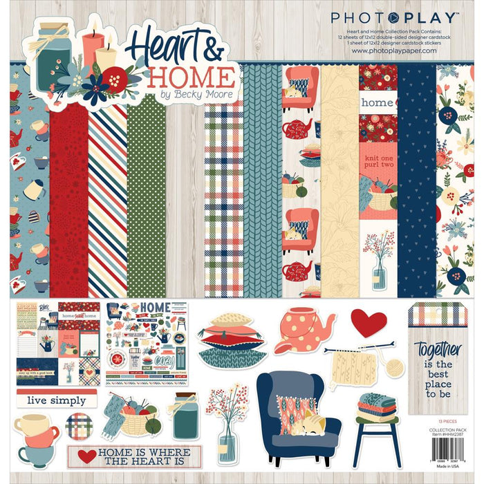 Photoplay Heart & Home - Collection Pack