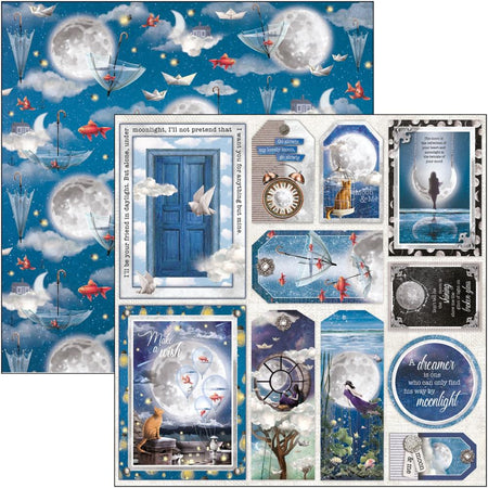Ciao Bella Moon & Me - Cards & Tags