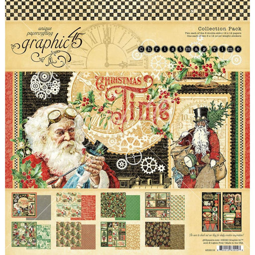 Graphic 45 Christmas Time - Collection Pack