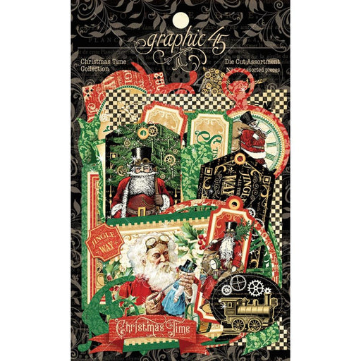 Graphic 45 Christmas Time - Die Cut Assortment