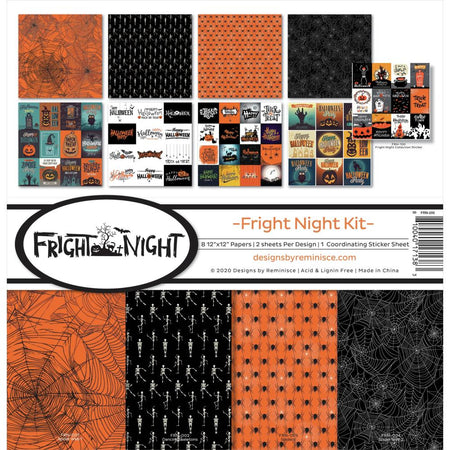 Reminisce Fright Night - Collection Kit