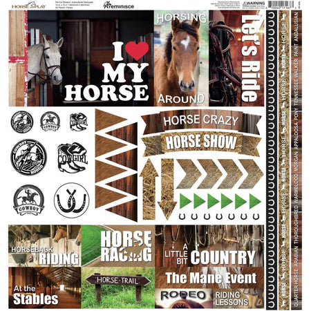 Reminisce Horseplay - Stickers