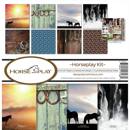 Reminisce Horseplay - Collection Kit
