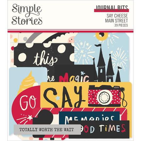 Simple Stories Say Cheese Main Street - Journal Bits & Pieces