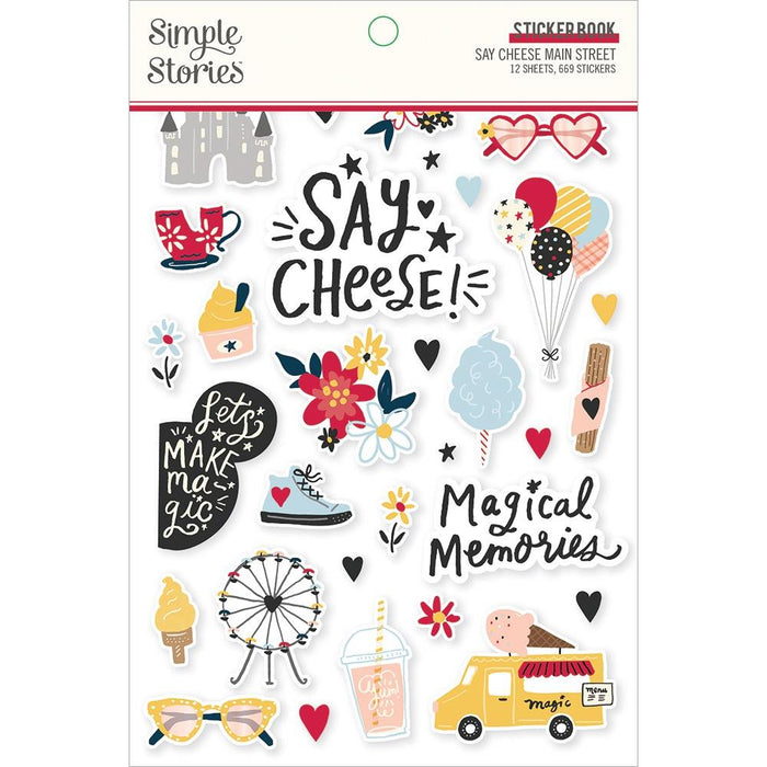 Simple Stories Say Cheese Main Street - Sticker Book