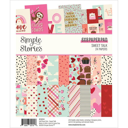 Simple Stories Sweet Talk - 6x8 Paper Pad