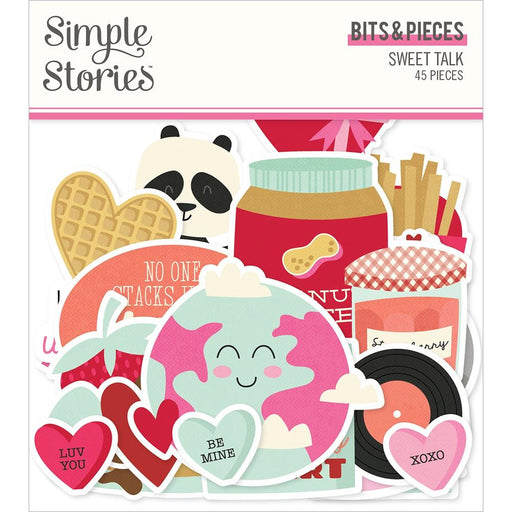 Simple Stories Sweet Talk - Bits & Pieces